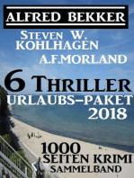 6 Thriller Urlaubs-Paket 2018