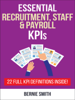 Essential Recruitment, Staff and Payroll KPIs