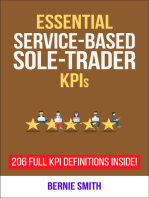 Essential Service-Based Sole-Trader KPIs
