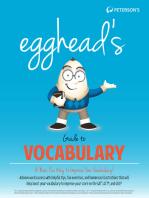 Egghead's Guide to Vocabulary