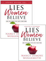 Lies Women Believe/Lies Women Believe Study Guide- 2 book set