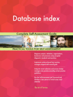 Database index Complete Self-Assessment Guide