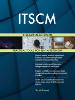 ITSCM Standard Requirements