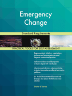 Emergency Change Standard Requirements