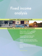 Fixed income analysis Complete Self-Assessment Guide