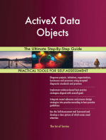 ActiveX Data Objects The Ultimate Step-By-Step Guide
