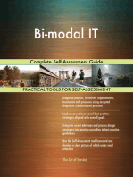 Bi-modal IT Complete Self-Assessment Guide