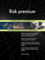 Risk premium A Clear and Concise Reference