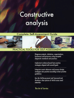 Constructive analysis Complete Self-Assessment Guide