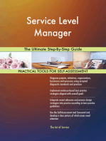 Service Level Manager The Ultimate Step-By-Step Guide