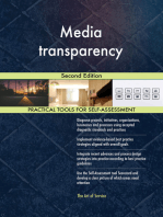 Media transparency Second Edition
