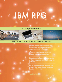 IBM RPG A Complete Guide