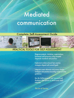 Mediated communication Complete Self-Assessment Guide