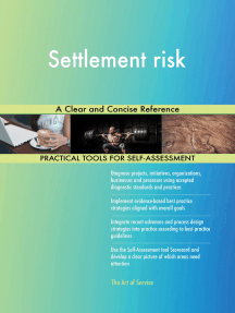 Settlement risk A Clear and Concise Reference