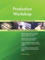 Production Workshop Complete Self-Assessment Guide