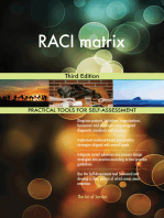 RACI matrix Third Edition