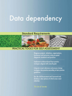 Data dependency Standard Requirements