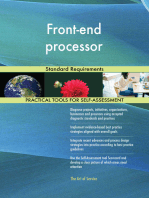 Front-end processor Standard Requirements