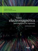 Teoría electromagnética para estudiantes de ingeniería: Notas de clase