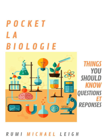 Pocket La Biologie: Things you should know