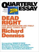 Quarterly Essay 70 Dead Right