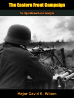 The Eastern Front Campaign