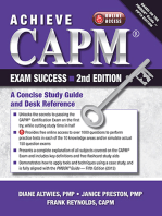 Achieve CAPM Exam Success, 2nd Edition