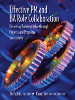 Effective PM and BA Role Collaboration