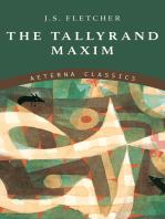 The Tallyrand Maxim