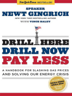 Drill Here, Drill Now, Pay Less