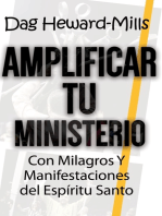Amplificar tu ministerio con milagros y manifestaciones del Espíritu Santo