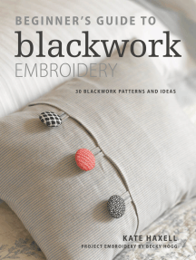 Beginner's Guide to Blackwork Embroidery: 30 blackwork patterns and ideas