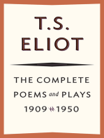 The Complete Poems and Plays, 1909–1950