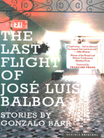 Last Flight of José Luis Balboa