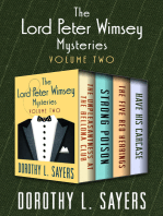 The Lord Peter Wimsey Mysteries Volume Two