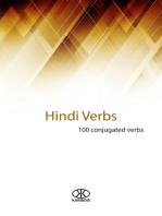 Hindi verbs (100 conjugated verbs)