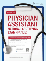 Master the Physician Assistant (PANCE)