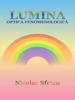 Lumina: Optica fenomenologică