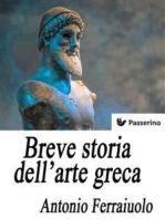 Breve storia dell'arte greca