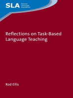 Reflections on Task-Based Language Teaching