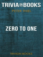 Zero to One by Peter Thiel (Trivia-On-Books)