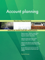 Account planning Standard Requirements