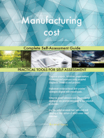 Manufacturing cost Complete Self-Assessment Guide