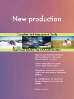New production Complete Self-Assessment Guide