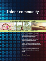 Talent community Complete Self-Assessment Guide