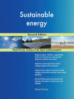 Sustainable energy Second Edition