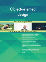 Object-oriented design Standard Requirements