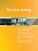 Random testing Standard Requirements