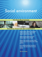 Social environment Standard Requirements