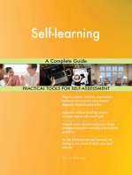 Self-learning A Complete Guide